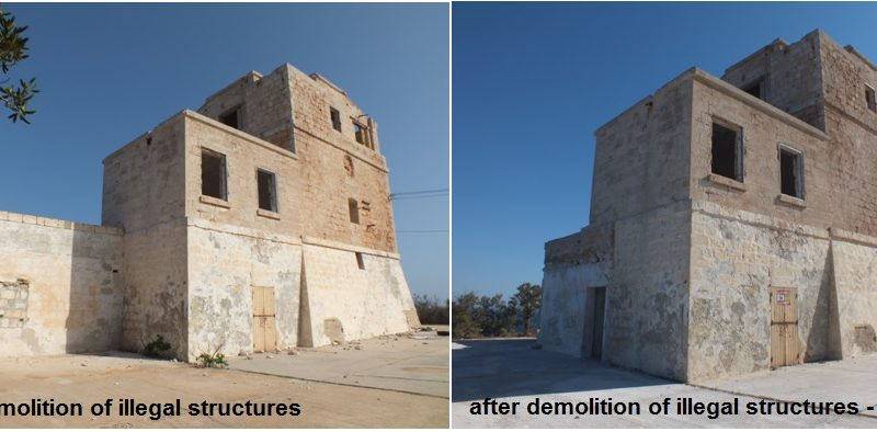 Illegal Structures Demolition
