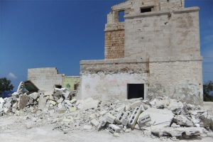 Demolition of illegal rooms